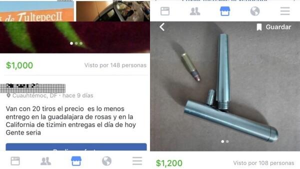 Armas de fuego en Facebook