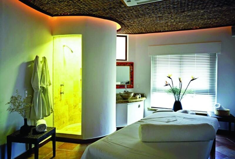 Hay dos cabinas especialmente diseñadas para parejas.