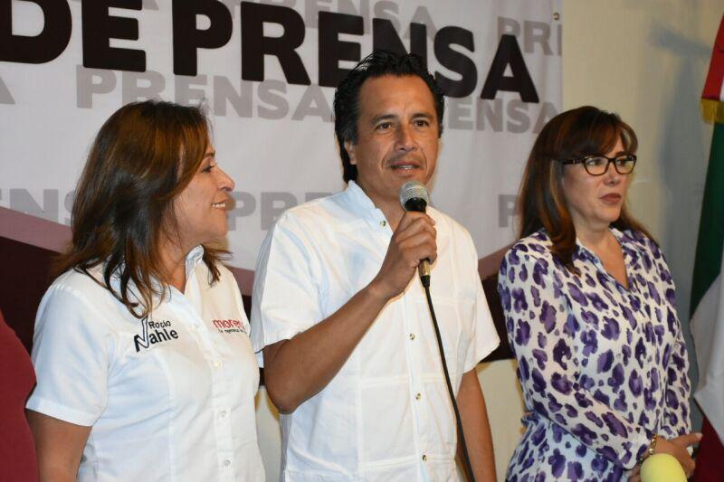 El candidato de Morena al gobierno de Veracruz destacó que su partido tuvo gran crecimiento durante los comicios electorales.