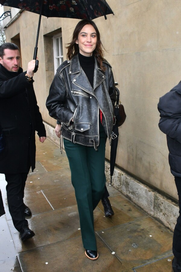Victoria Beckham show, Arrivals, Fall Winter 2020, London Fashion Week, UK - 16 Feb 2020