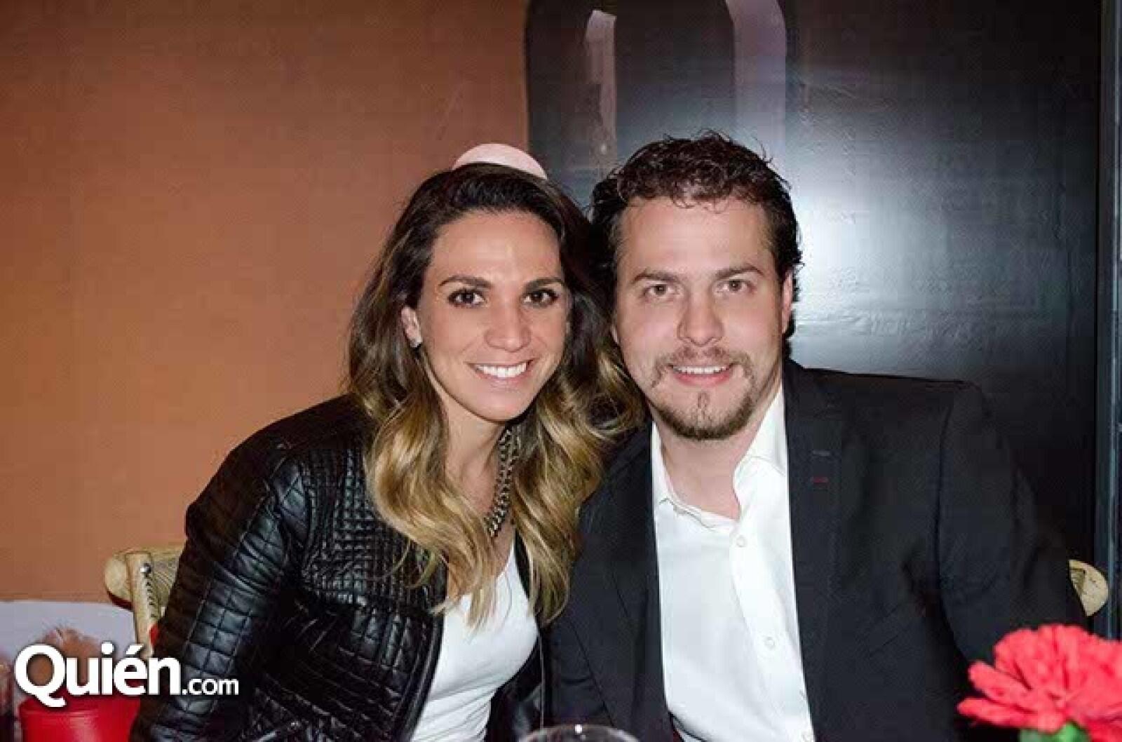 Daniela González y Juan Pablo Robert