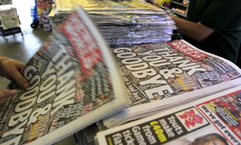 El año pasado el ahora ex tabloide News of the World fue protagonista del escándalo. (Foto: AP)