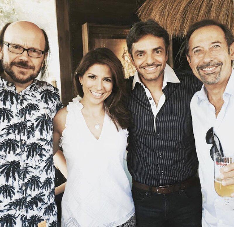 El cine mexicano, español y argentino unido a través de @EugenioDerbez Santiago Segura y Guillermo Francella #leyendas @PremiosPLATINO