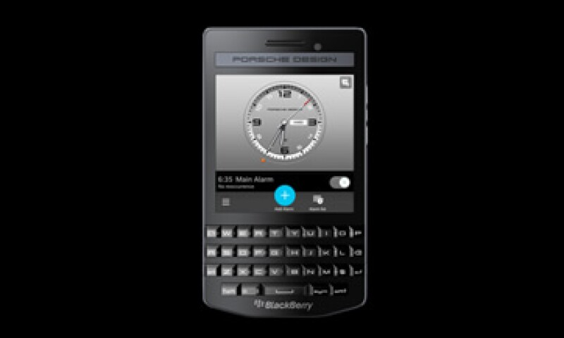 La capacidad del BlackBerry Porsche es de 8gb. (Foto: tomada de Porsche Design )
