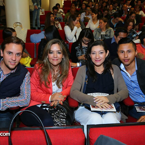Ricardo Simon, Marianela Hernández, Nena Colorado y Carlos Arcia
