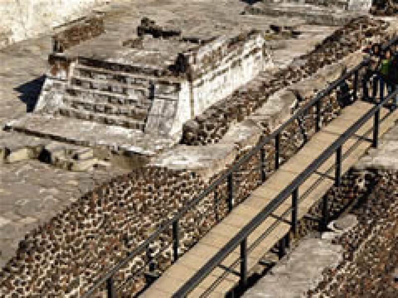 El Templo Mayor es uno de los sitios cerrados por la contingencia. (Foto: Notimex)