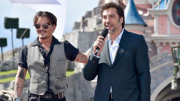 Johnny Depp y Javier Bardem.