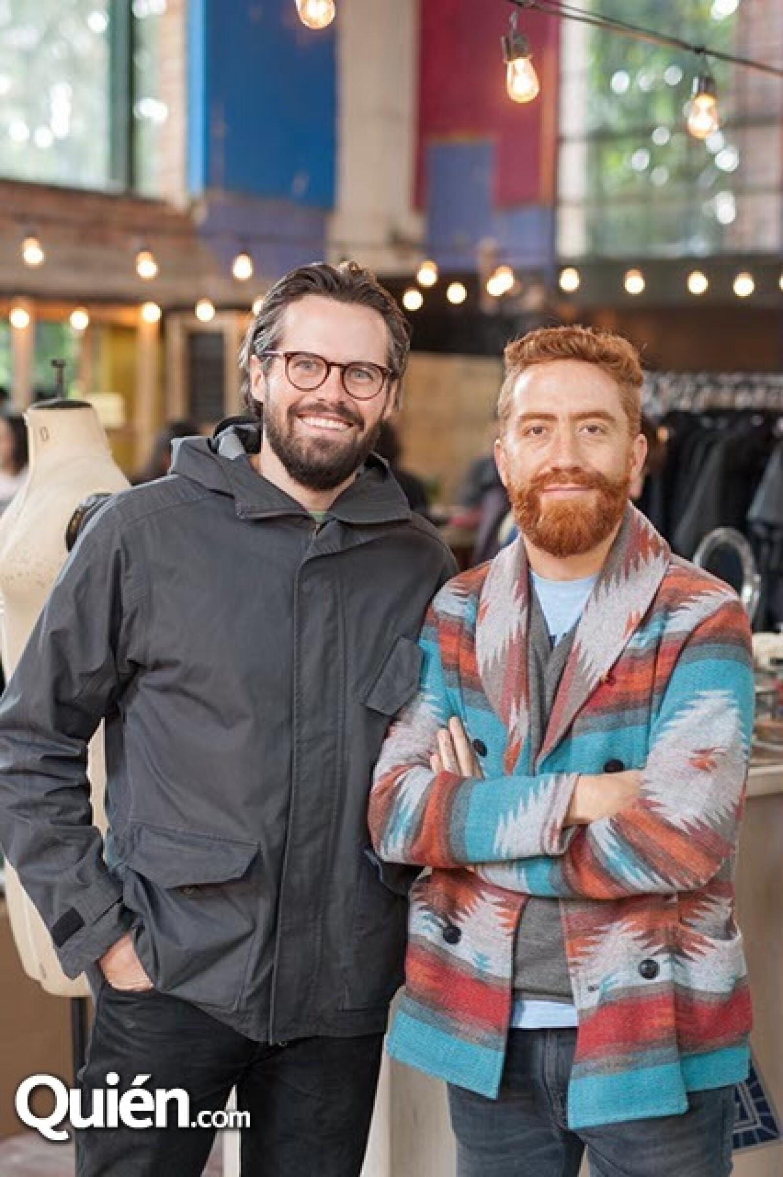Nicolás Fernández y Andrés López