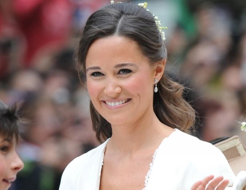Pippa derrochó sensualidad durante la boda Real.