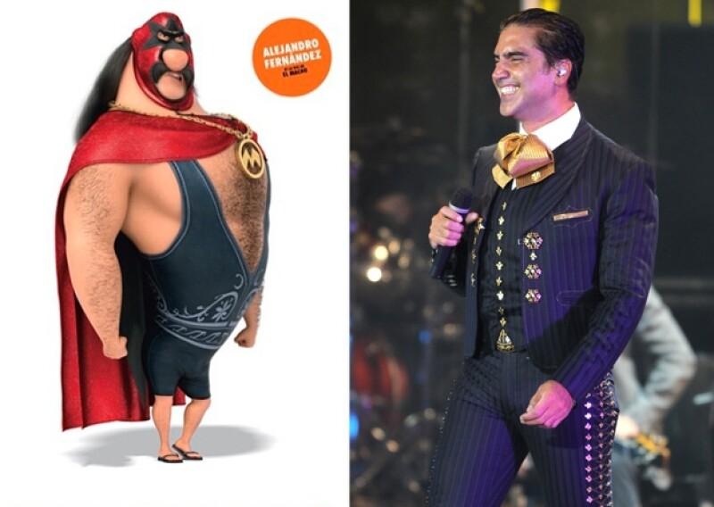 Recientemente, Alejandro presentó en su cuenta de Instagram al personaje que interpretará con su voz en la segunda parte de `Mi villano favorito´.