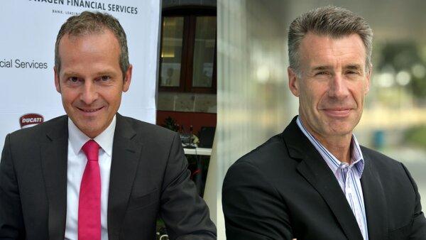 Joerg Pape y Marcel Fickers