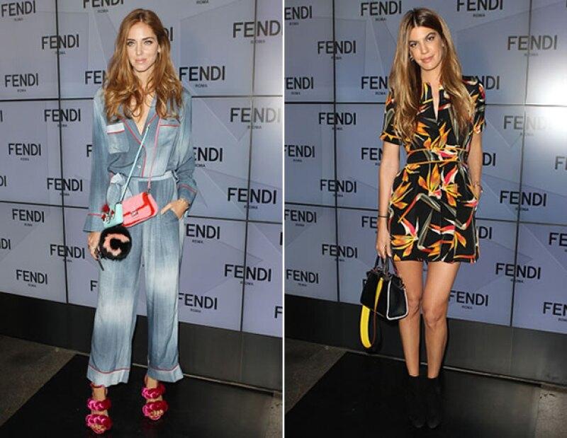 Chiara Ferragni y Bianca Brandolini