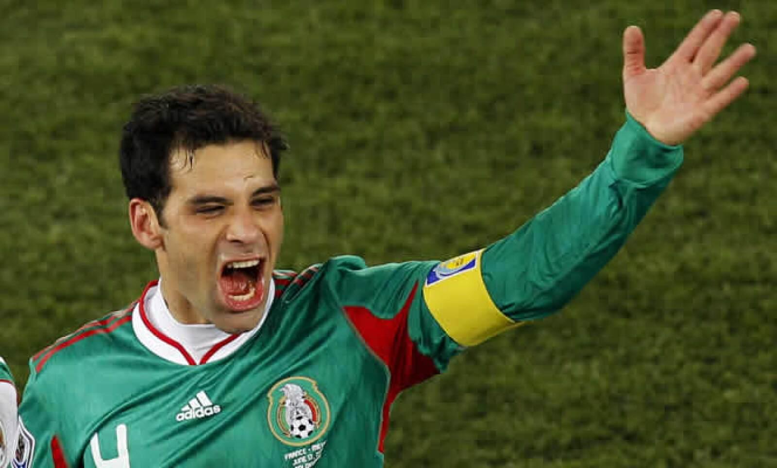 El capitán de la selección mexicana acaba de fichar por el New York Red Bull de Estados Unidos.
