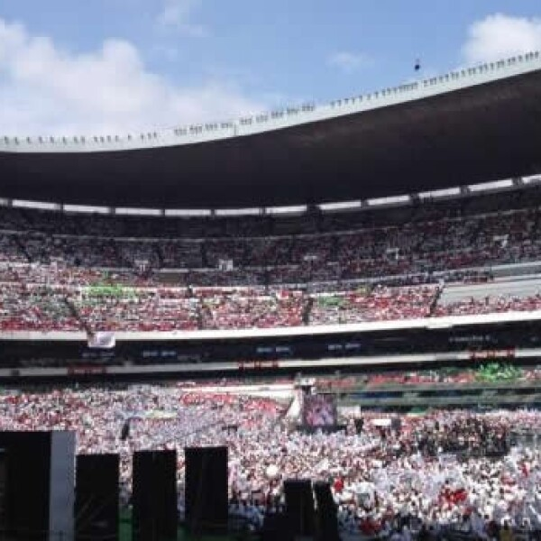 Peña Nieto Estadio Azteca 1