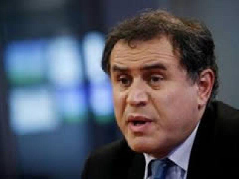 El presidente de RGE Monitor, Nouriel Roubini, fue uno de los primeros economistas en predecir la actual recesión. (Foto: Reuters)