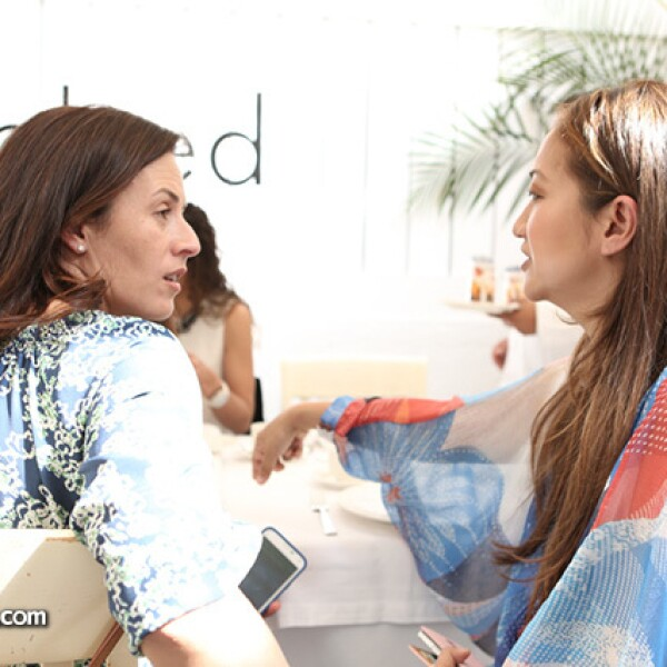 Berenice Bojorquez y Jean Seo