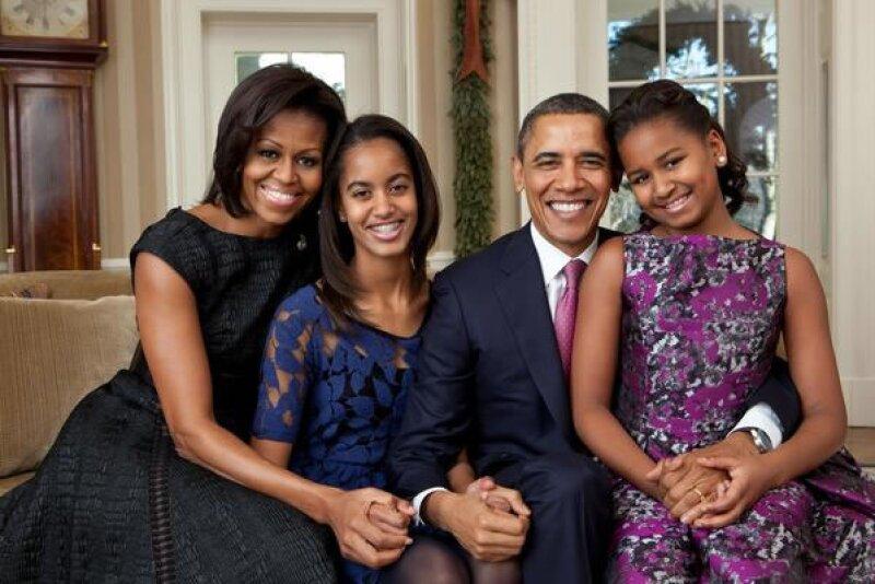 El presidente de Estados Unidos y su esposa han formado una familia ejemplar.