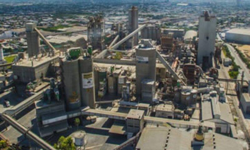 La planta de Cemex en Monterrey, Nuevo León, al noreste de México (Foto: Tomada de @CEMEX )
