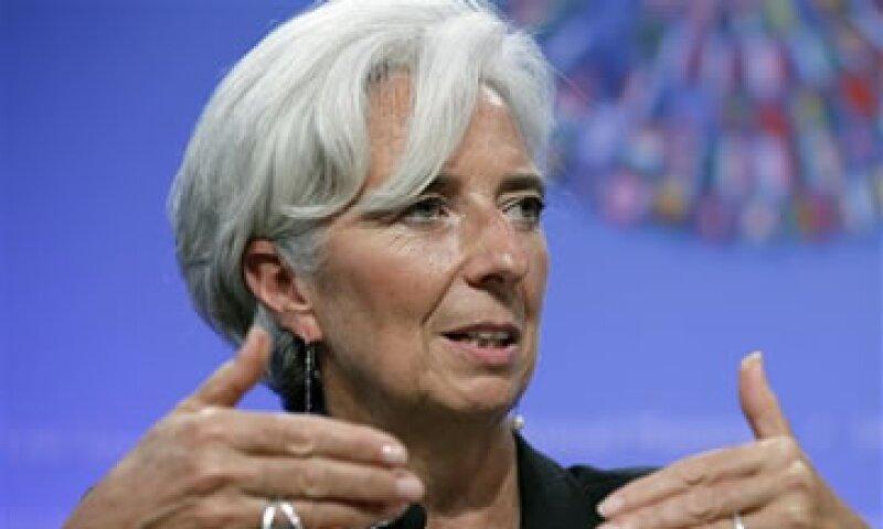 Lagarde dijo que los bancos deben conseguir capital de sus accionistas. (Foto: AP)