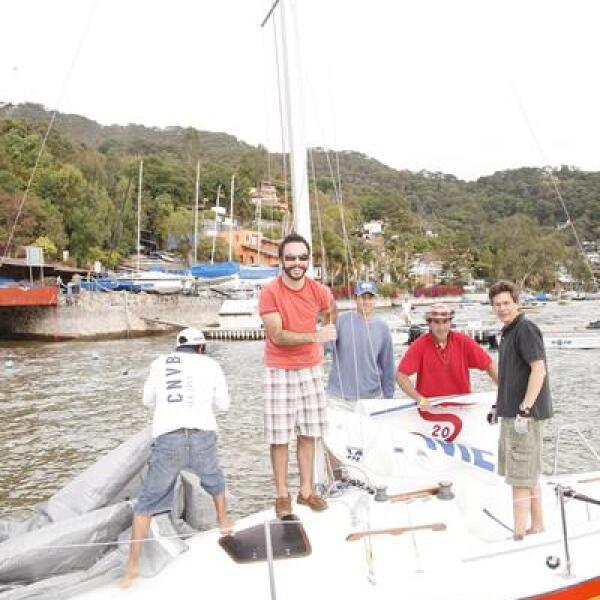 Jorge Ravelo,Salvador Sandoval,José Luis Isunza,Julio Barba