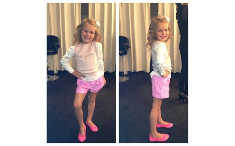 Maddie Aldridge, sobrina de la Princesa del Pop, es una niña carismática, muy pendiente de la moda y experta en posar para la cámara. ¿Seguirá los pasos de su famosa tía?