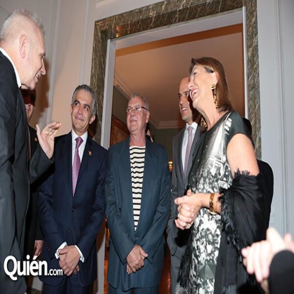 Jean Paul Gaultier,Miguel Ángel Mancera,Yves Beton, Manuel Rivera, Marie Thérèse Arango