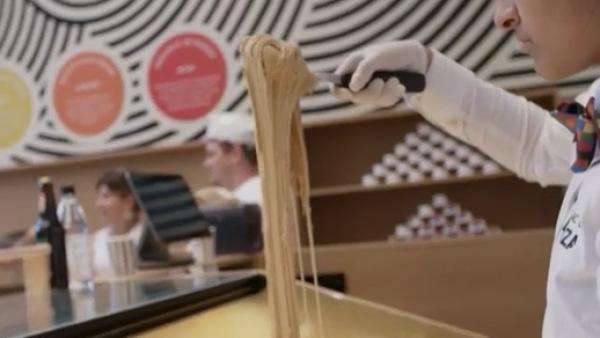 Nueva York ofrece uno de los postres más inusuales: helados elásticos
