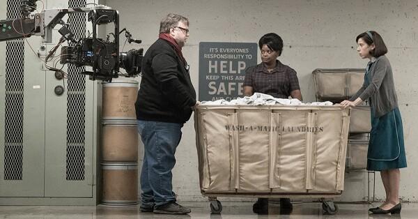 Guillermo del Toro en el set de 'Shape of Water'