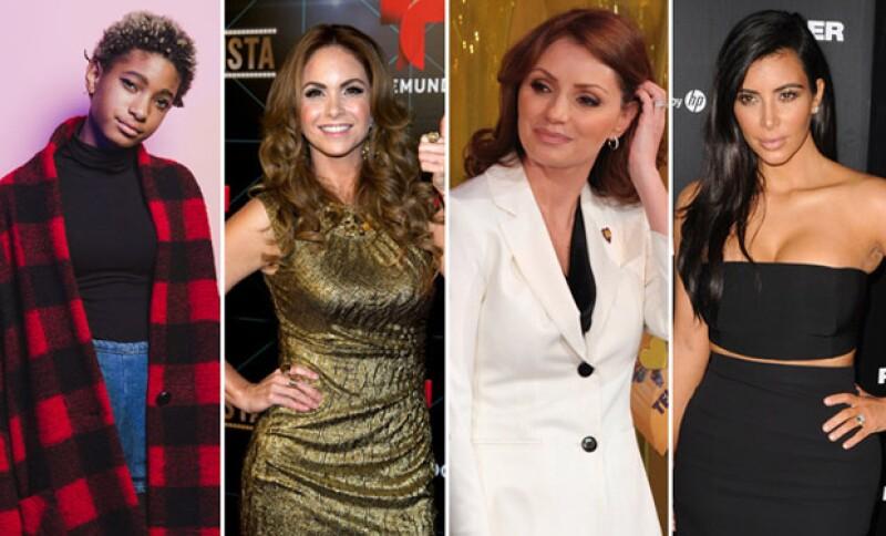 Angélica Rivera, Kim Kardashian, Lucero, Justin Bieber y muchos más han causado, a lo largo del año, controversia por diversas situaciones o actitudes que han tomado.