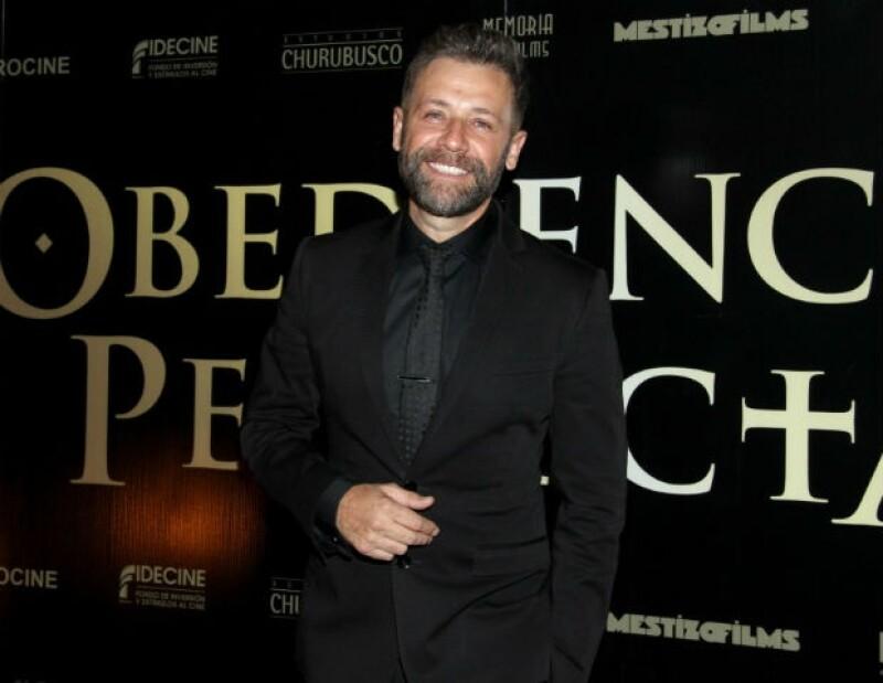 """El actor estrena hoy """"Obediencia Perfecta"""", una historia que muestra uno de los casos de pederastia que más han sacudido a la sociedad en México."""