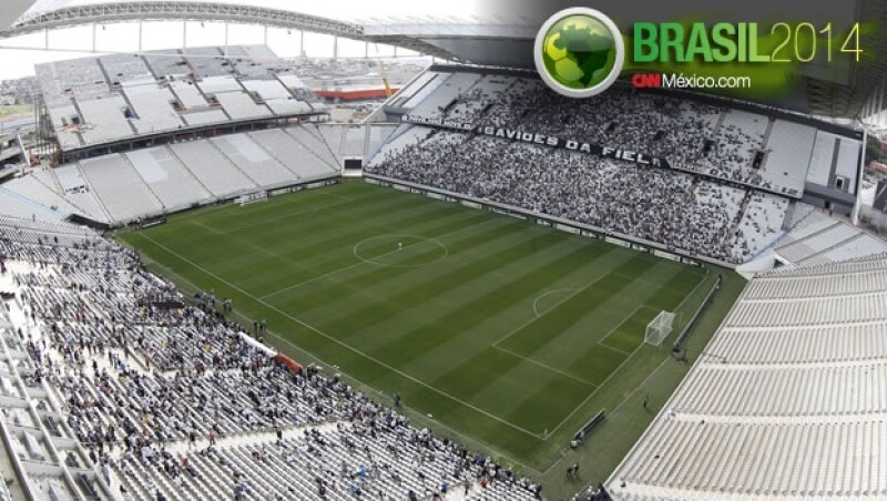 Arena Corinthians inauguracion