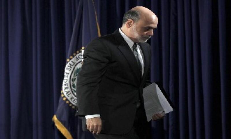"""La Fed anunció que probablemente mantenga las tasas """"excepcionalmente bajas"""" hasta mediados de 2013. (Foto: AP)"""