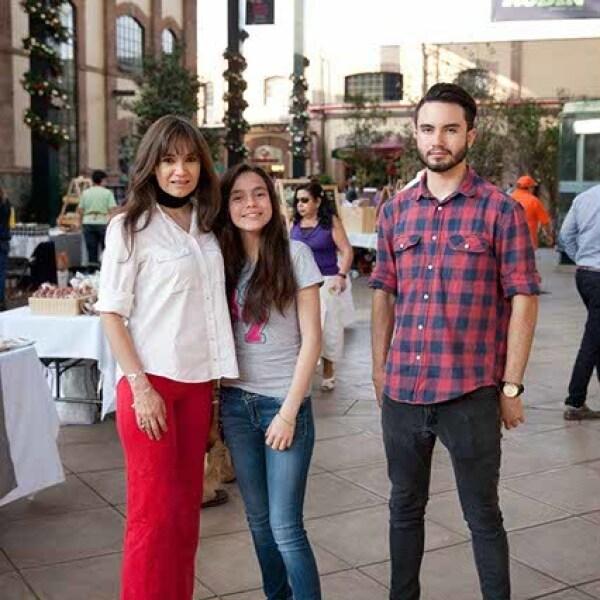 Julieta Páez,Viviana y Javier Aguirre
