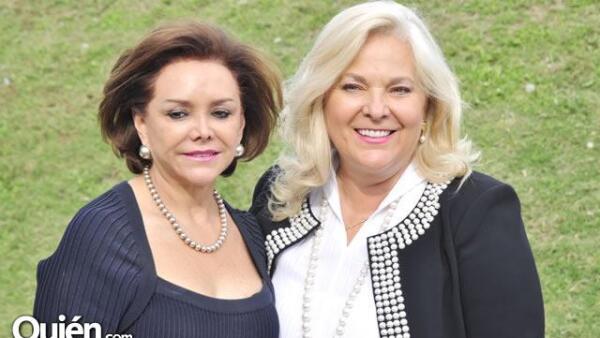 Adriana Salinas de Gortari y Liliana Melo de Sada