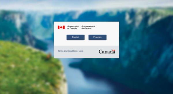 Website de inmigración canadiense