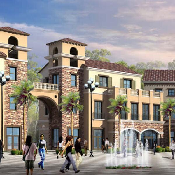 Construido en Shimen, China en una superficie de 23, 224 metros cuadrados, el desarrollo inspirado en el antiguo estilo europeo, brindará espacios abiertos y cerrados que darán distintos servicios.