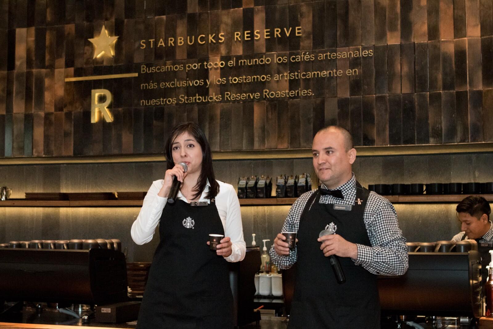 Starbucks Reserve Bar en Monterrey