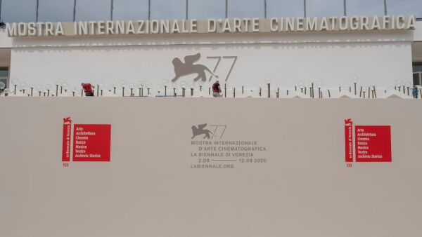 Preparation At The 77th Venice Film Festival