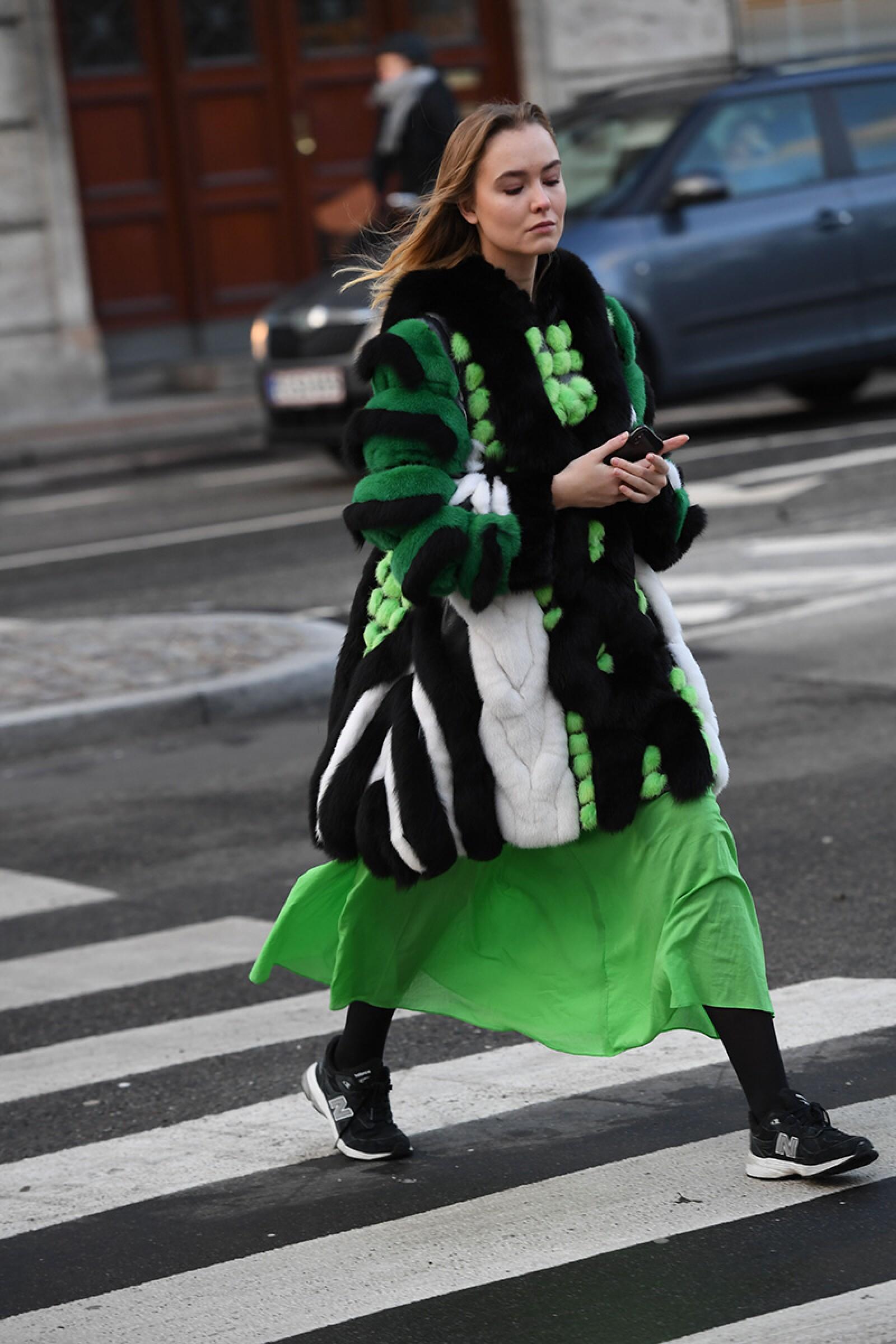 Street Style, Fall Winter 2019, Copenhagen Fashion Week, Denmark - 29 Jan 2019