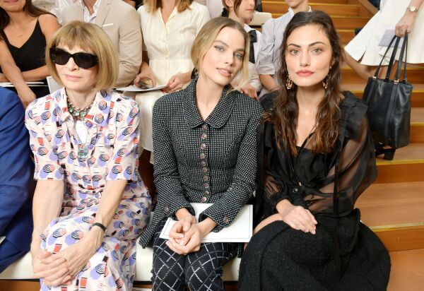 Chanel show, Front Row, Fall Winter 2019, Haute Couture Fashion Week, Paris, France - 02 Jul 2019