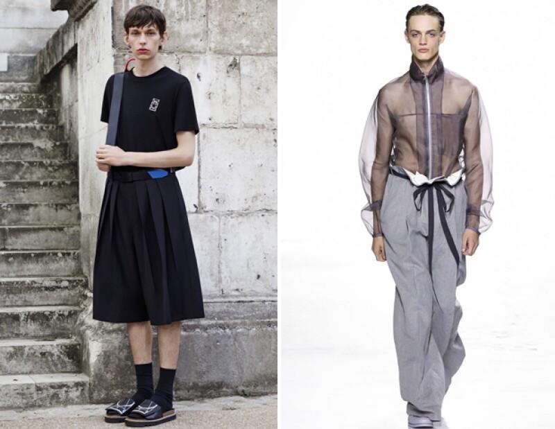 El look andrógino es una de las tendencias más fuertes, lo que significa que nuestras opciones no se limitan a nuestro género.