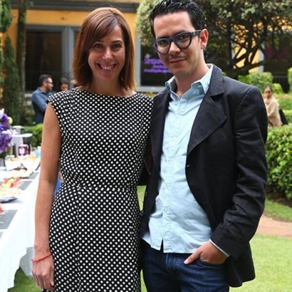 Ruth Ovseyevitz y Manolo Caro