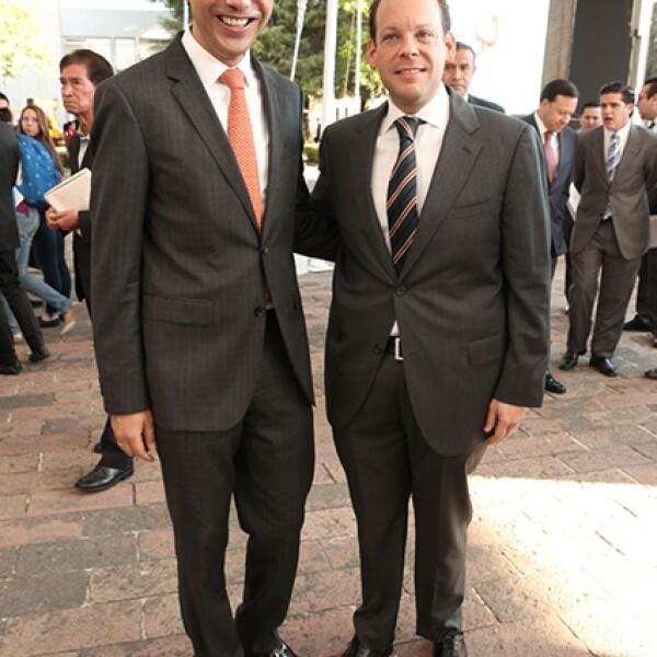 German Campos y David Korenfeld