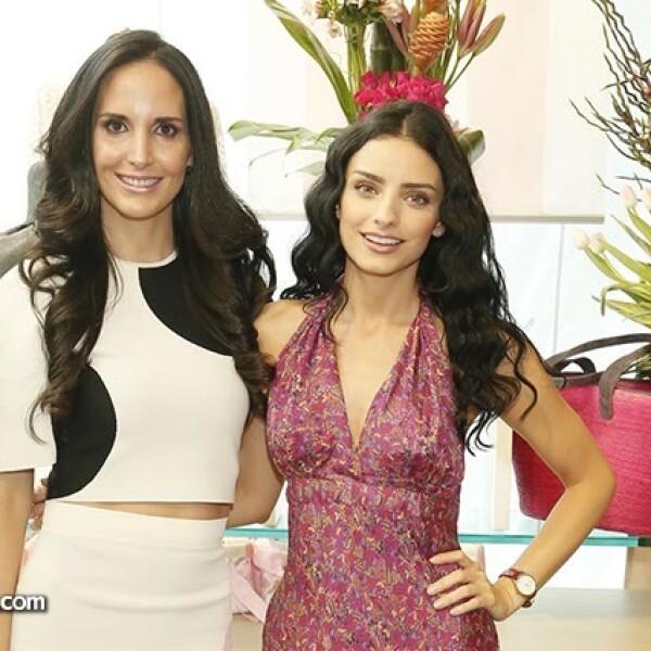 Valeria López y Aislinn Derbez