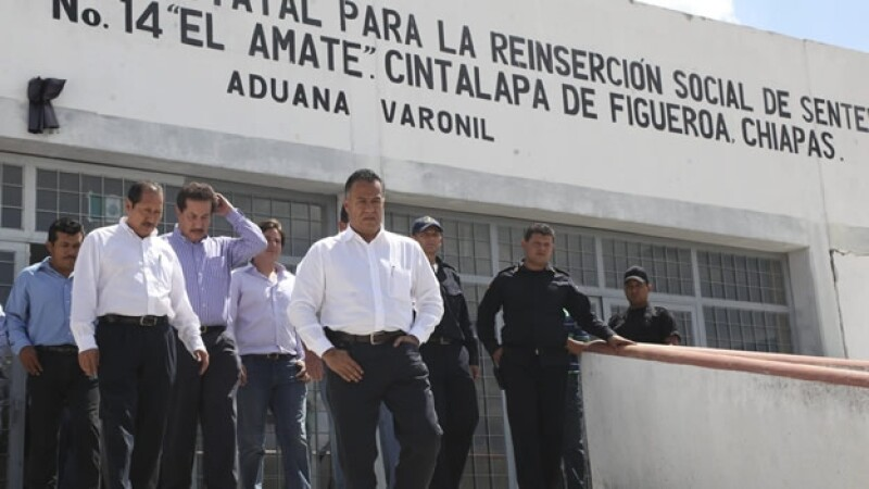 penal el amate en chiapas donde estápablo salazar mendiguchia