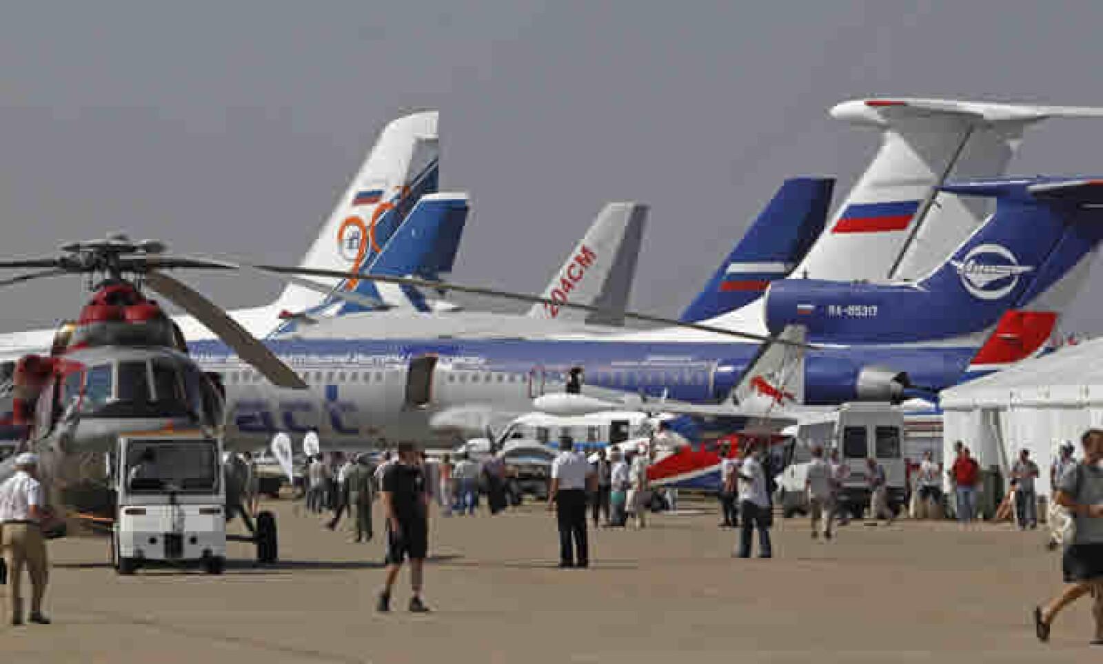 La industria de la aviación rusa intenta recobrar su esplendor tras la caída de la URSS en 1991.