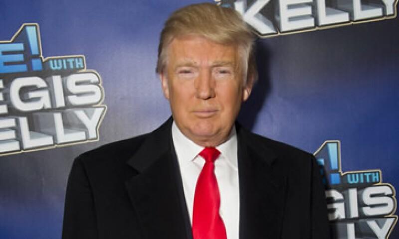 Donald Trump se decidirá una vez que concluya la serie de televisión que encabeza, en mayo próximo. (Foto: AP)