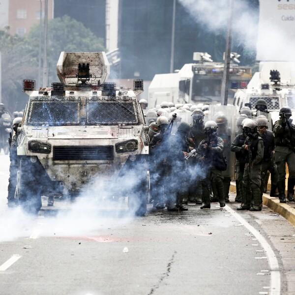 Fuerzas antidisturbios