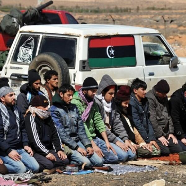 Libia - rebeldes oran