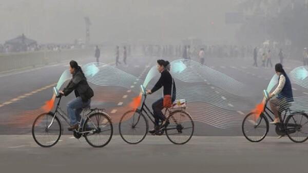 Bicicletas anti-contaminación